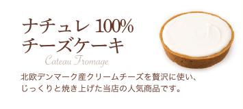 ナチュレ100%チーズケーキ